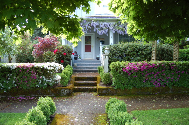 What does your front yard landscape say about you The