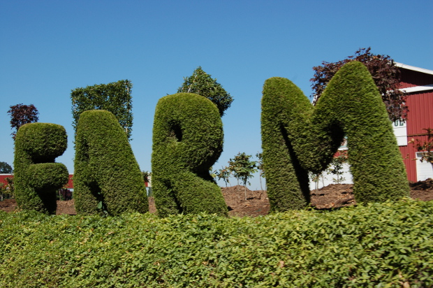 bountiful farms topiary letters