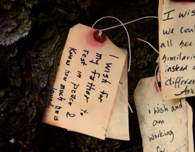 wish on portlands wishing tree father rip 120614 015