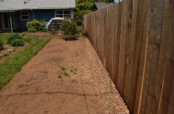 backyard landscaping ideas and before and after photos access path after 050315 054