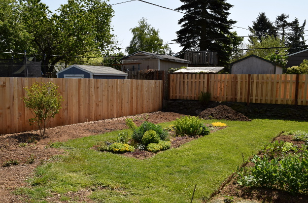 Backyard Landscaping Ideas And Before And After Photos Brush And Ivy After  050315 028