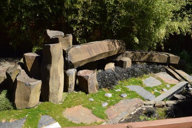 garden conservancy japanese garden stone rill