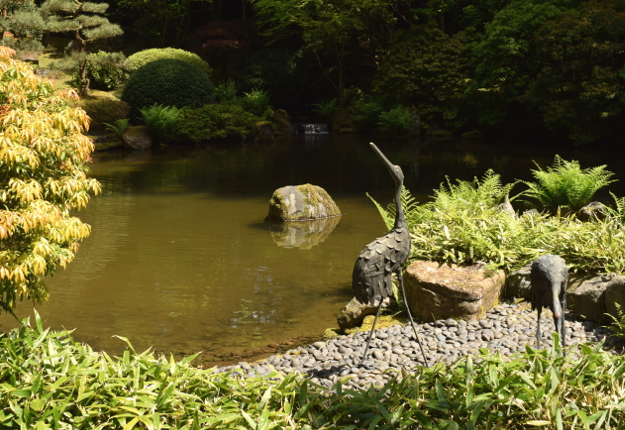 Japanese Garden Stones Japanese garden the worlds best gardening blog in a japanese water garden you are bound to see a few large stones sticking out the water nothing is by accident a low flat stone represents the workwithnaturefo